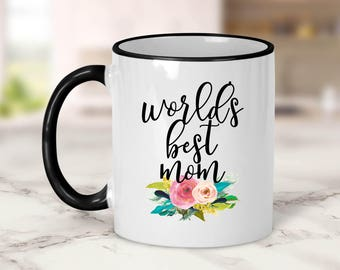 World's Best Mom Mug // Mother's Day Gift // Mother
