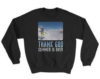 Snowboarding, Skiing, Snowboard, Skiing, Winter  Sweatshirt