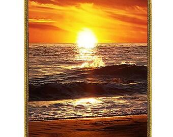 Extra Large Luggage Tag:   Tropical Sunset