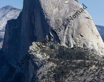 Half Dome from Glacier Point, Yosemite National Park, Digital Photograph, Home Decor