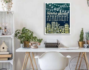 Apartment Decor Etsy