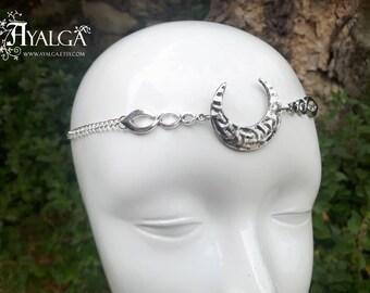 moon headpiece - necklace