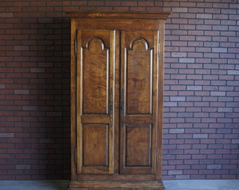 Armoire / Bookcase / French Provincial Armoire / Country French Armoire