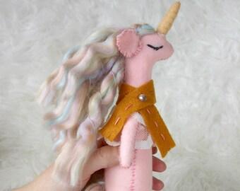 Felt Unicorn- Winona
