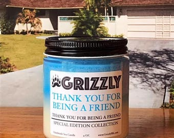 Thank You For Being A Friend - (Thank You For Being A Friend Special Edition Collection) 4 oz. Soy Candle