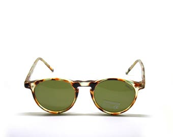 POLAROID tortoise acetate NEW VINTAGE sunglasses