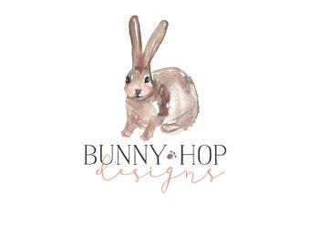 Logo Design Branding, Photography Logo, Small Business Logo, Custom Logo, Logo Design Package, Affordable Logo, Bunny Logo, Logo Branding