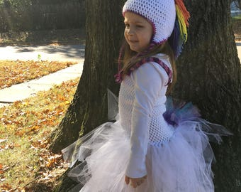 Unicorn Halloween Costume, Unicorn Hat, Toddler Halloween Costume, Rainbow Unicorn, Unicorn Costume, Christmas Gift, Toddler Gift