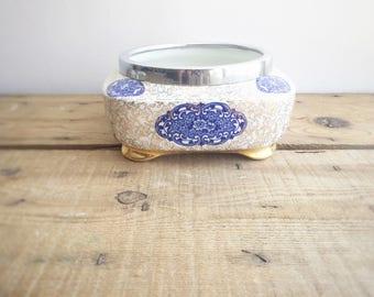 Vintage James Kent Golden Osaka 6363 Porcelain Fruit/ Rose Bowl, Made in England, Farmhouse Home Decor, Housewarming gift, Mother's Day gift