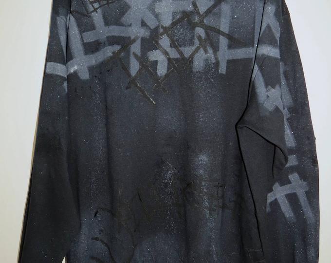 GVTT3R 666 black long sleeve T