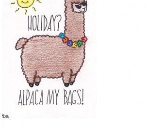 Alpaca My Bags!