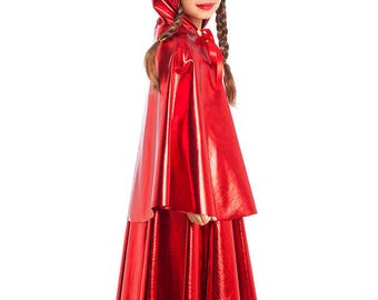 Little Red Riding Hood Cape, Girls Costumes, Kids Costumes, Halloween Costumes, Toddler Costume, Girls Halloween Costume, Girls Cosplay.