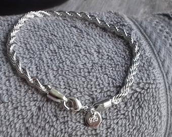 Sterling Silver Bracelet | dainty bracelet | sterling bracelet | delicate bracelet | silver bangle | minimalist bracelet | silver bracelets