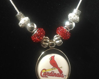 St Louis Cardinals Necklace