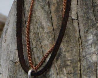 Sterling Seliver Ohm Symbol Necklace