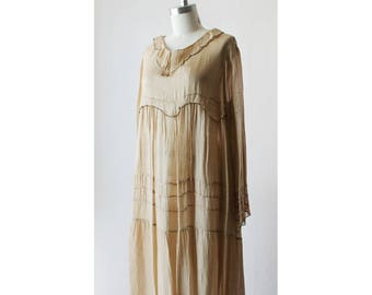 Vintage J. Morgan Puett Silk Dress