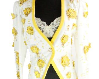 ESCADA by Designer Margaretha LEY Vintage Jacket