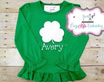 St. Patrick's Day Shirt, St Patricks Day Shirt, St Patty Shirt, Clover Shirt, Shamrock Shirt, Boys St Patrick Shirt, Girls St Patrick Shirt