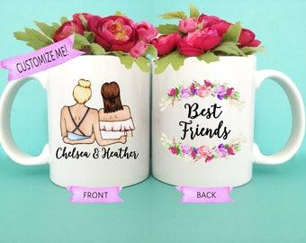 Best Friend Mugs | Best Friend Gifts | Bestfriend Gifts | Gift for Friend | You're my Person | For Best Friend | Best Friend Birthday
