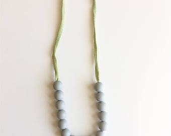 Teething Necklace for Mom & Baby - Grace