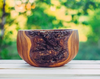 Big Wooden Salad Bowl