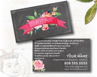 """plexus Business Card """"Watercolor Bouquet"""""""