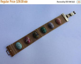 Summer Sale Vintage Signed Sara Coventry Costume Jewelry Bracelet