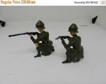 Summer Sale 2 Vintage Britians LTD German Toy Soldiers