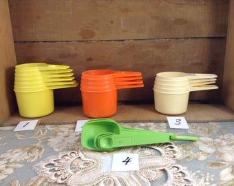 Vintage Tupperware Measuring Cups or Spoons