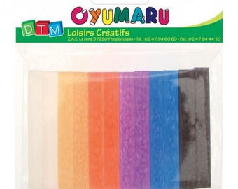 12 rolls Oyumaru dark clay oyumaru colors