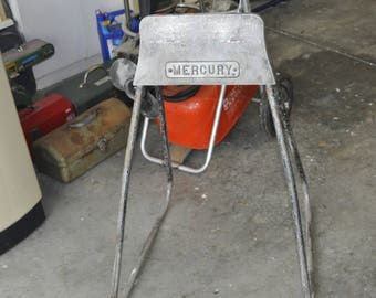 Vintage Mercury Outboard Motor Stand