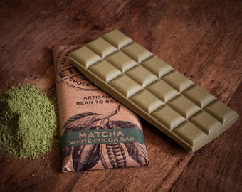 Vegan Alternative to White Chocolate - Matcha Green Tea