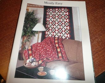 Calico Prints Mostly Easy Quilt Book