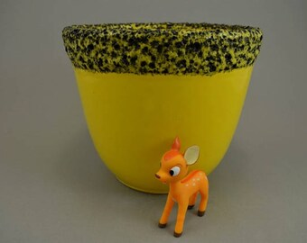 Vintage planter / Silberdistel / Fat Lava | West German Pottery | 60s