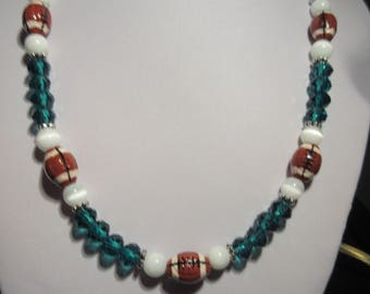 Philadelphia Eagles Inspired Necklace