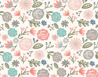 1 Yard Heart and Soul by Deena Rutter and Seek Good Works for Riley Blake Designs - 6700 Blush Heart Main