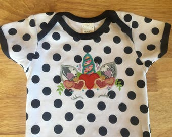 Custom embroidered onesie's and bibs