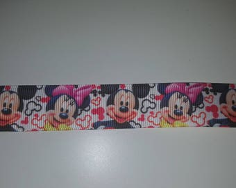 minnie and mickey 22mm the meter Ribbon
