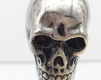 Chrome Style Skull Drawer Cabinet Knob DIY Projects