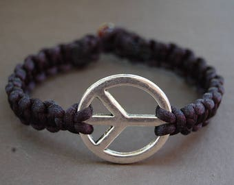 Peace Bracelet,Peace String Bracelet,Macrame,Hemp Bracelet,Zen,Good Luck,Pray,Men,Woman,Yoga Bracelet,Protection,Meditation,Protection