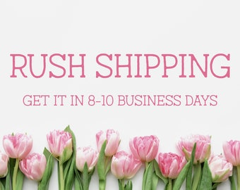 Rushing Shipping - Only Valid with Pillow Order