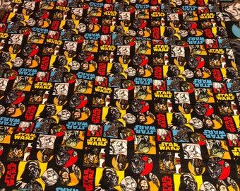 Flannel Star Wars blanket