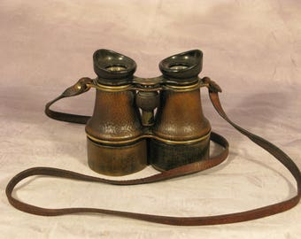 Rare British Galileo Binoculars Field Glasses The Liverpool Husun Henry Hughes and Son C1920