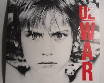 U 2-war-island 205259-FOC-vinyl record LP
