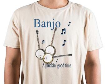 Banjo - A Pluckn' Good Time T-Shirt