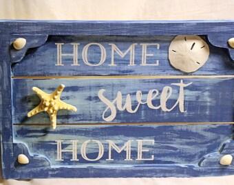Rustic Beach Sign,Rustic Beach Wood Sign. sea decor,  beach sign, beach decor,  wood beach sign, beach house sign