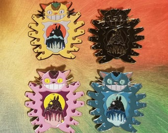 Totoro Cat Bus Studio Ghibli Hat Pin Sets