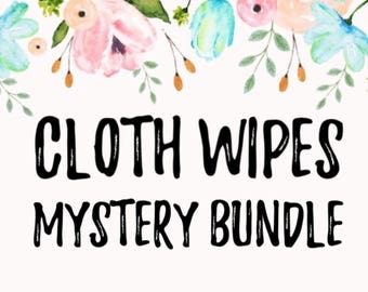 Cloth Wipes - Mystery Prints