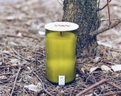 Bergamot + Tobacco Recycled Wine Bottle Candle