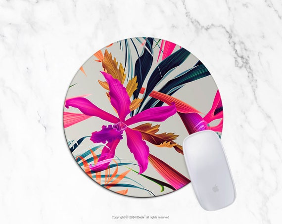 Floral Mousepad Round Mousepad Rectangle Mouse pad Beautiful Design Floral Mouse pad Cute Mousepad 32